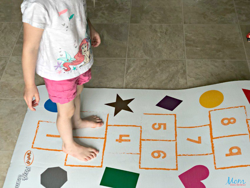 Learning Fun This Summer With Teach My Yoga Mats yogaforkids