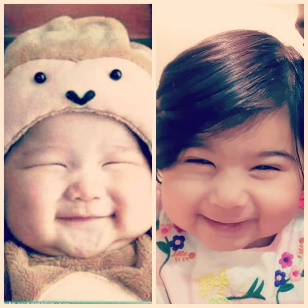 Can u guess which one is Myra and which one is ACTUALLY a chinese babymommingon cutebab…
