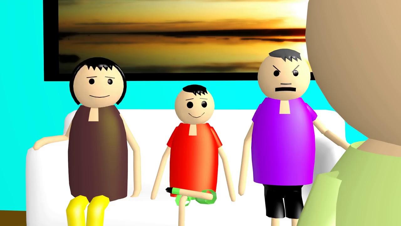 Funny Tuiton teacher and parents meeting AnimatedRashiNevatia