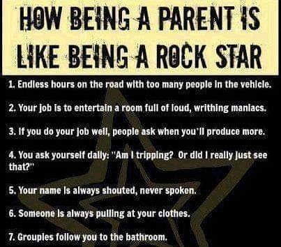 parentingmemes parenting rockstar parentingteens