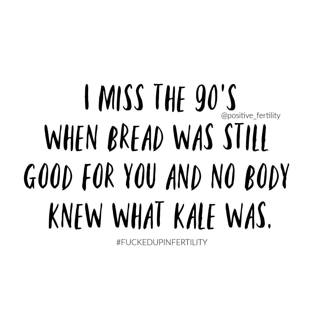 Seriously- I dont understand how kale just came out of nowhere.But what I dont miss about the 9…