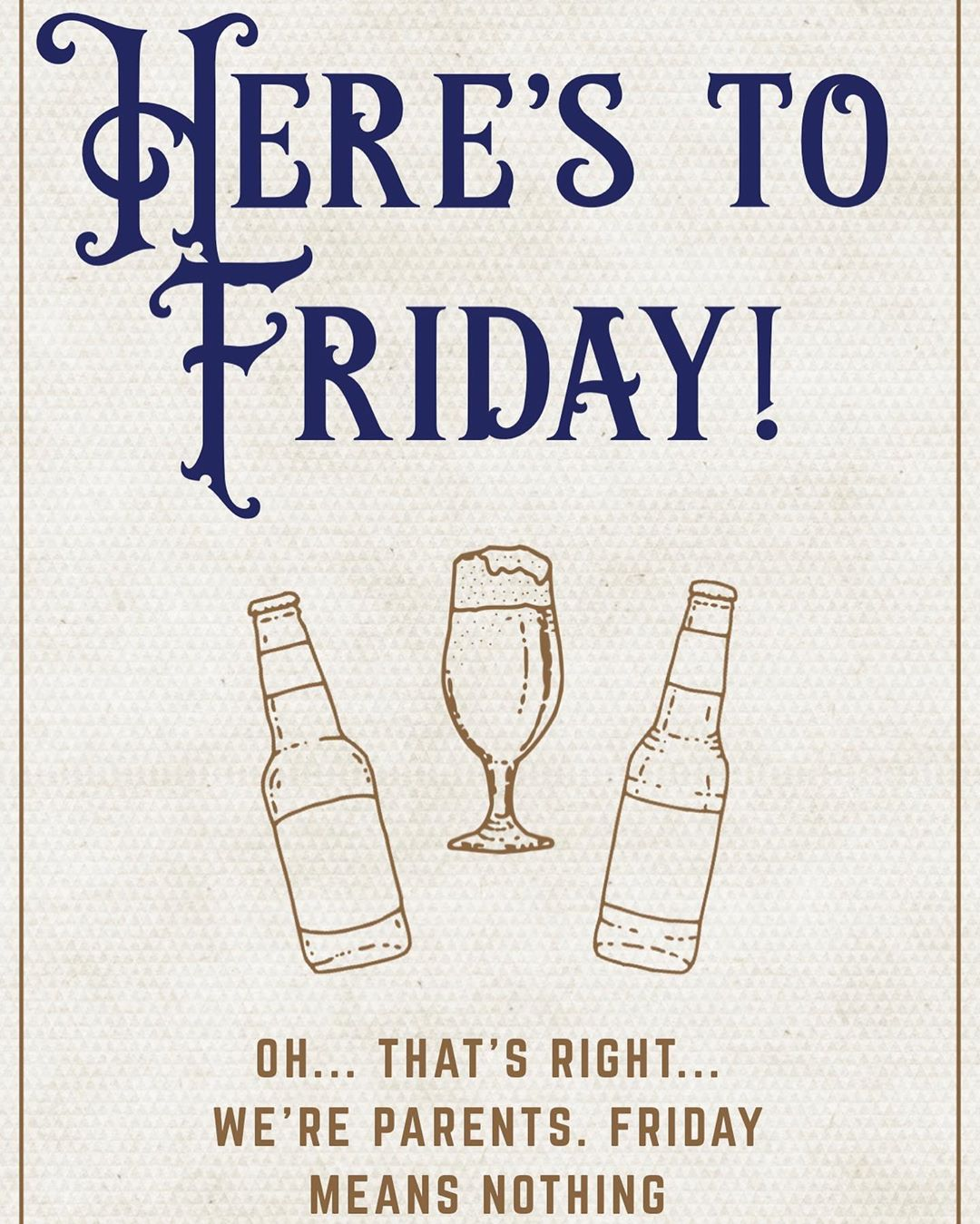 Happy Friday everyone Remember to put your kids to bed early and do something for you tonight What…