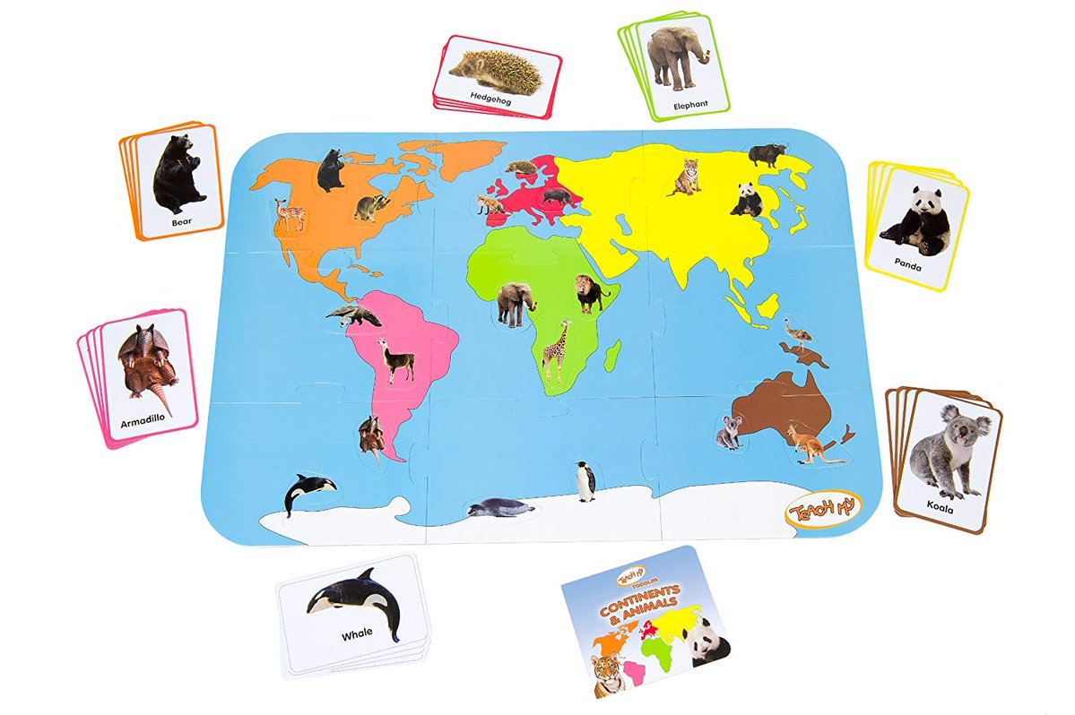 Teach My Continents and Animals 4.5 STARS