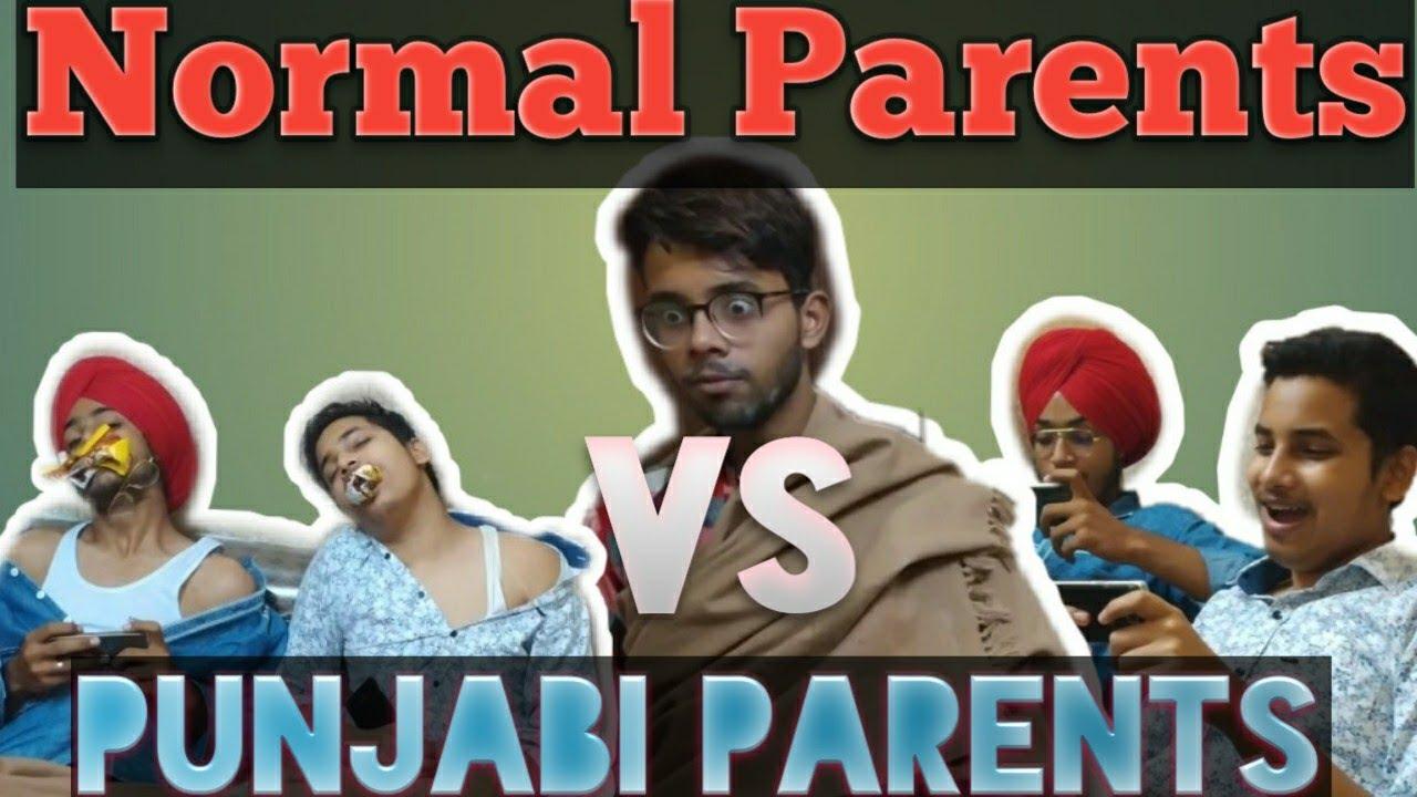 Normal Parents VS Punjabi Parents Part 1 Funny Punjabi video Laksh Ludhiana
