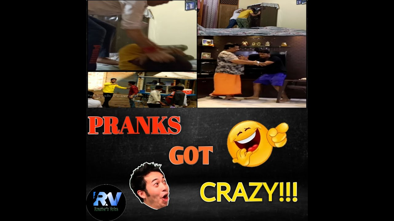 Pranks Got CRAZY.. Funny pranks with parents gone WRONG. FULL ON LAUGHTER.