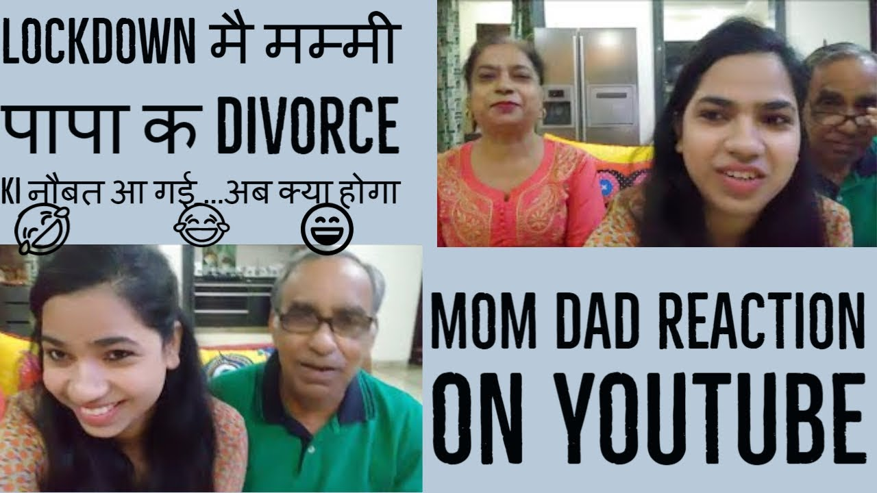 HOW MY PARENTS REACT TO MY YOU TUBE CHANNEL –