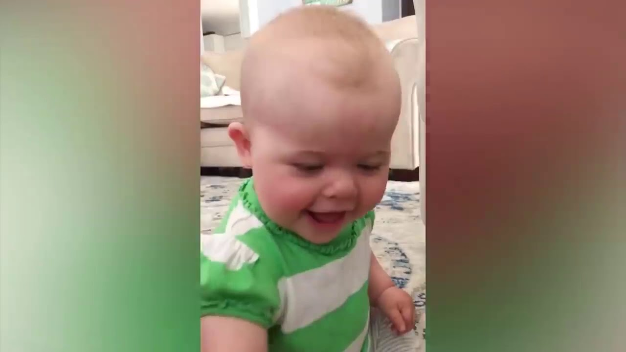 Babys REaction to parents saying no Funny Baby videos