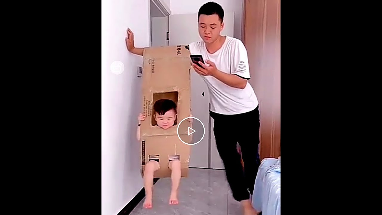 Funny Parents and their cute son