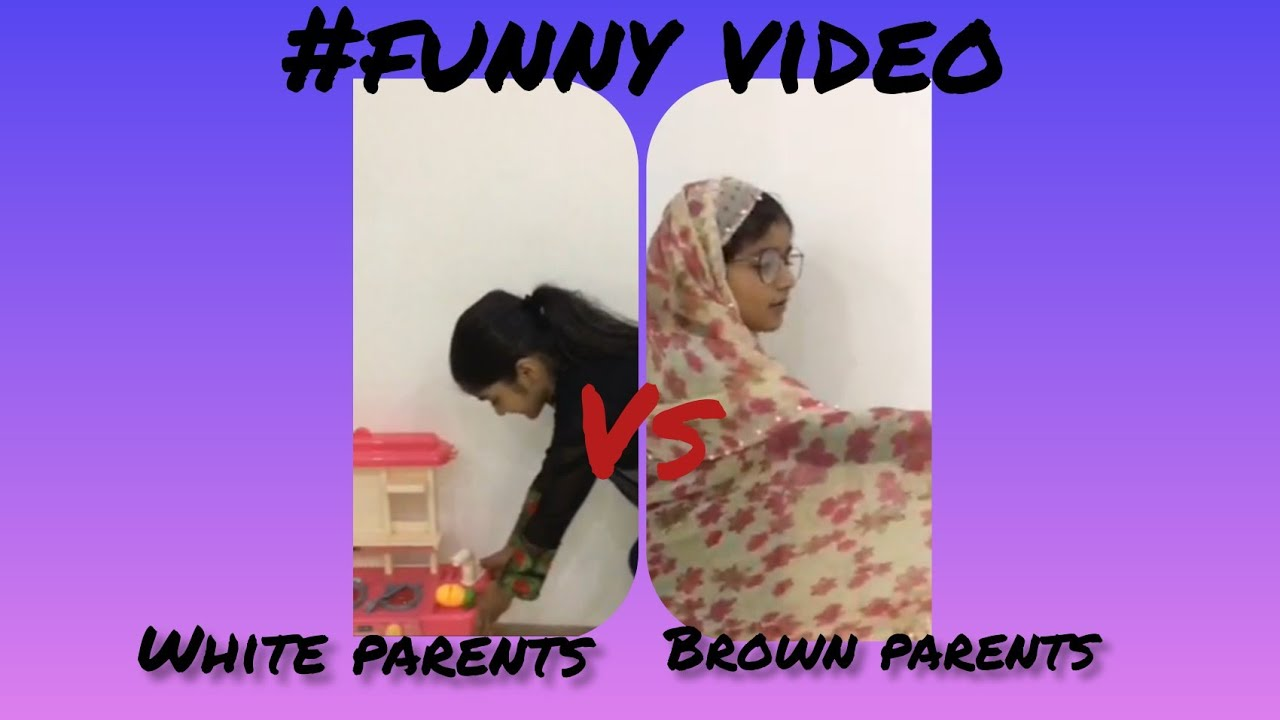 white parents vs brown parents funny video funny video