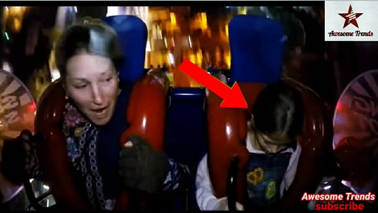 Parents vs kids Passing OutMust Watchvery funny sling shot ride complication by Awesome Trends..