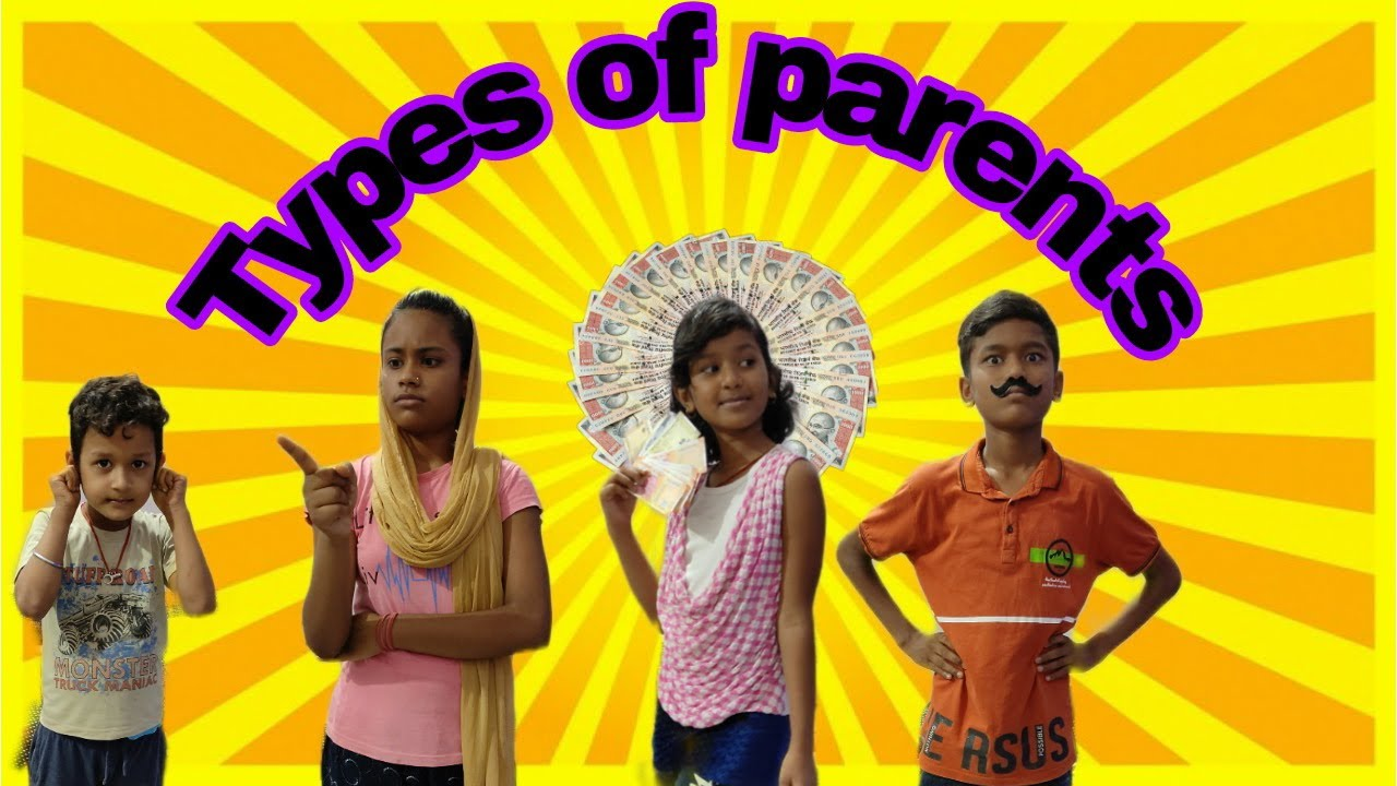 Types of parents Fun for kid39s funny video