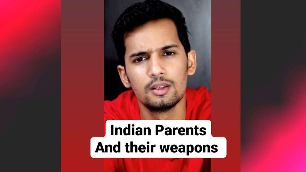 Indian Parents And Their Weapons adityarawat shorts parent weapons IndianParents funny comedy